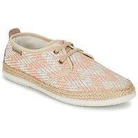 Cipők Női Rövid szárú edzőcipők Bamba By Victoria BLUCHER TEJIDO ZIG-ZAG Lazac