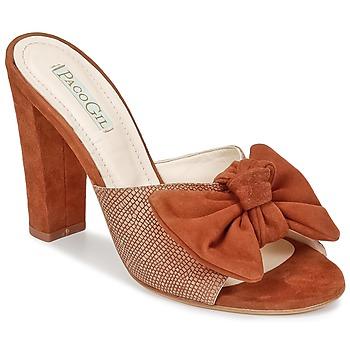 Cipők Női Papucsok Paco Gil BRAZIL Barna