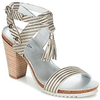 Cipők Női Szandálok / Saruk Regard RIKIL Ezüst