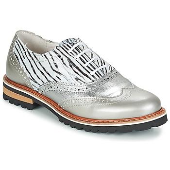 Cipők Női Oxford cipők Regard ROAXA Ezüst