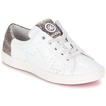Shoes Lány Rövid szárú edzőcipők Acebo's SOUDIN Fehér