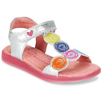 Shoes Lány Szandálok / Saruk Agatha Ruiz de la Prada BIDINETTE Ezüst