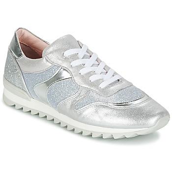 Cipők Lány Rövid szárú edzőcipők Unisa DAYTONA Ezüst