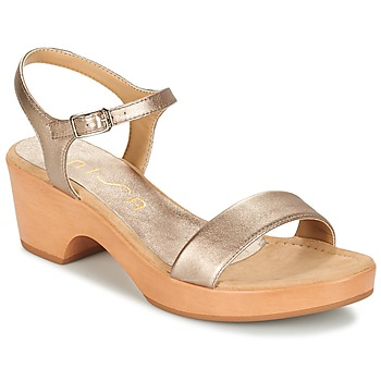 Cipők Női Szandálok / Saruk Unisa IRITA Arany