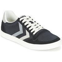 Shoes Rövid szárú edzőcipők Hummel TEN STAR DUO CANVAS LOW Fekete  / Szürke