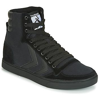 Cipők Magas szárú edzőcipők Hummel TEN STAR TONAL HIGH Fekete