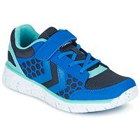 Shoes Gyerek Rövid szárú edzőcipők Hummel CROSSLITE JR Kék