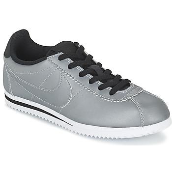 Cipők Fiú Rövid szárú edzőcipők Nike CORTEZ PREMIUM JUNIOR Szürke