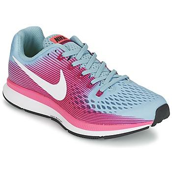 Cipők Női Futócipők Nike AIR ZOOM PEGASUS 34 Kék / Fukszia