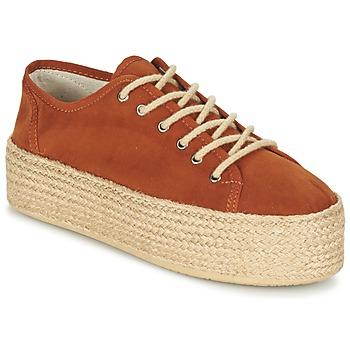 Shoes Női Gyékény talpú cipők Ippon Vintage NAMI COLORS Teve