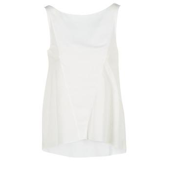 material Női Trikók / Ujjatlan pólók Desigual ROMINESSA Fehér