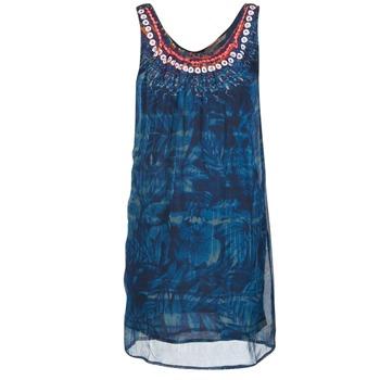 material Női Rövid ruhák Desigual LIORISE Kék