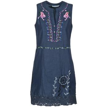 material Női Rövid ruhák Desigual LIRASE Kék