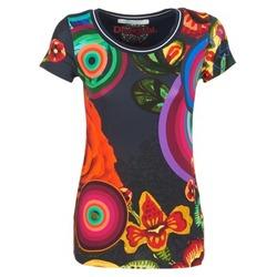 material Női Rövid ujjú pólók Desigual GRIZILLO Sokszínű