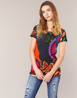 material Női Rövid ujjú pólók Desigual GRIZELLO Sokszínű