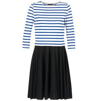 Ruhák Női Rövid ruhák Petit Bateau FINALLY Fehér / Kék
