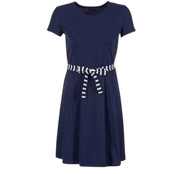 Ruhák Női Rövid ruhák Petit Bateau FLARE Tengerész