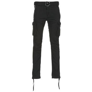 material Férfi Oldalzsebes nadrágok Schott TR RANGER 70 Fekete
