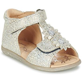Shoes Lány Szandálok / Saruk Babybotte TUTU Ezüst