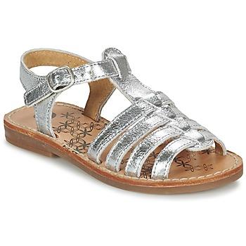 Shoes Lány Szandálok / Saruk Babybotte YLONA Ezüst