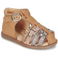 Cipők Lány Balerina cipők / babák Babybotte TWIX Teve
