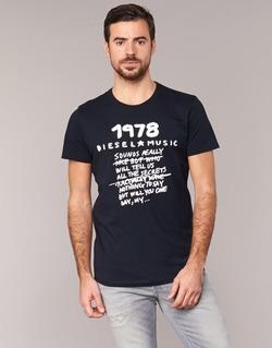 material Férfi Rövid ujjú pólók Diesel T DIEGO NB Fekete