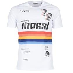 material Férfi Rövid ujjú pólók Diesel T JOE OB Fehér