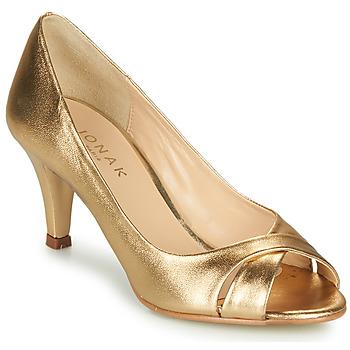 Cipők Női Félcipők Jonak DIANE Arany