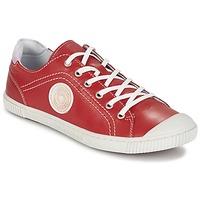 Cipők Női Rövid szárú edzőcipők Pataugas BAHER F2C Piros