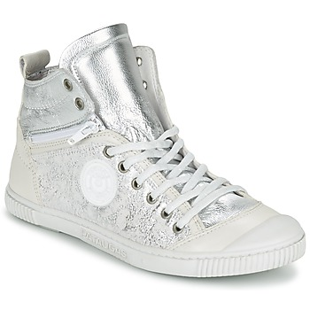 Cipők Női Magas szárú edzőcipők Pataugas BANJOU/MT F2C Ezüst