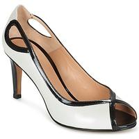 Cipők Női Félcipők Perlato FEJILI Fehér / Fekete