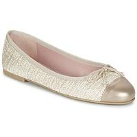 Cipők Női Balerina cipők / babák Pretty Ballerinas AMI Arany / Rózsaszín