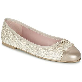 Shoes Női Balerina cipők / babák Pretty Ballerinas AMI Arany / Rózsaszín