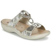 Cipők Női Papucsok Remonte Dorndorf TARDESSO Ezüst