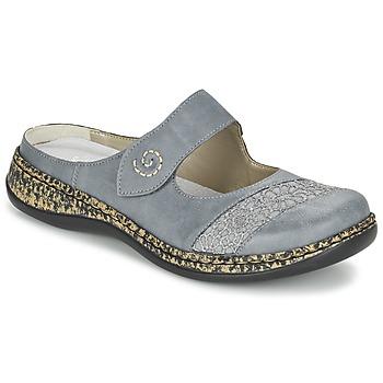 Shoes Női Papucsok Rieker GRILOPI Kék / Szürke