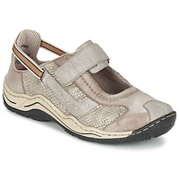 Cipők Női Rövid szárú edzőcipők Rieker BIOLORATEIL Tópszínű