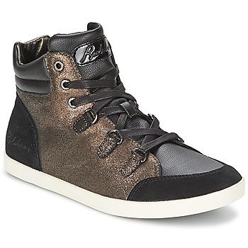 Cipők Női Magas szárú edzőcipők Redskins CADIX Fekete  / Bronz