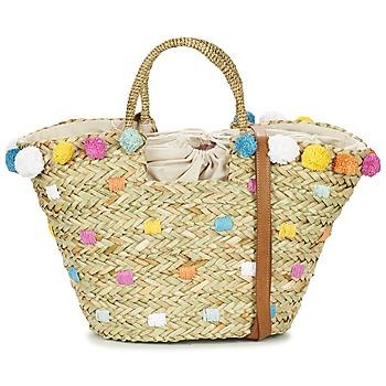 Bags Női Bevásárló szatyrok / Bevásárló táskák Pepe jeans MARLEY Bézs / Sokszínű