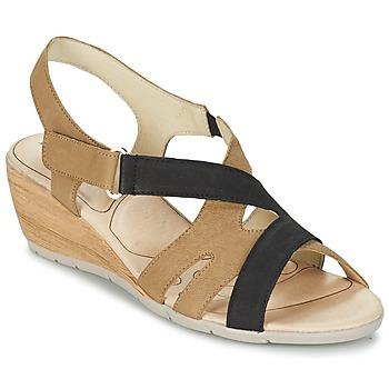 Cipők Női Szandálok / Saruk Rondinaud COLAGNE Bézs / Fekete
