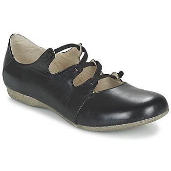 Cipők Női Balerina cipők / babák Josef Seibel FIONA 04 Fekete