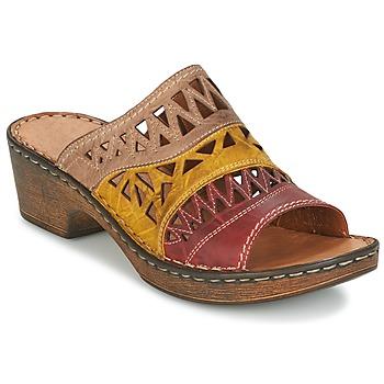 Cipők Női Papucsok Josef Seibel REBECCA 43 Sokszínű