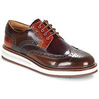 Cipők Férfi Oxford cipők Barleycorn AIR BROGUE Barna / Bordó