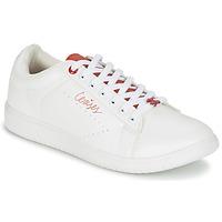 Cipők Női Rövid szárú edzőcipők Le Temps des Cerises SACHA Fehér