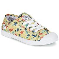 Cipők Lány Rövid szárú edzőcipők Le Temps des Cerises BASIC 02 Citromsárga