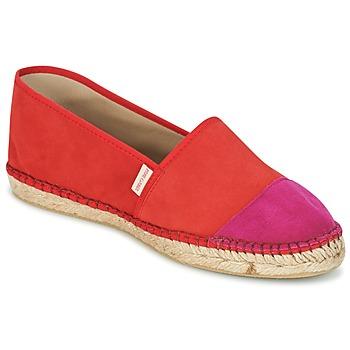 Cipők Női Gyékény talpú cipők Pare Gabia VP PREMIUM Piros / Rózsaszín