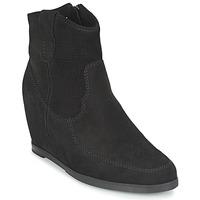 Cipők Női Bokacsizmák Myma PERFONOIR Fekete