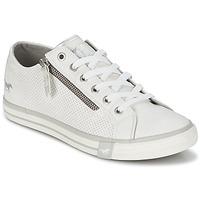 Cipők Női Rövid szárú edzőcipők Mustang RADU Fehér