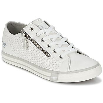 Shoes Női Rövid szárú edzőcipők Mustang RADU Fehér