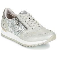 Cipők Női Rövid szárú edzőcipők Mustang VENFIN Ezüst