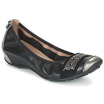 Cipők Női Balerina cipők / babák Mam'Zelle FADILA Fekete  / Ezüst
